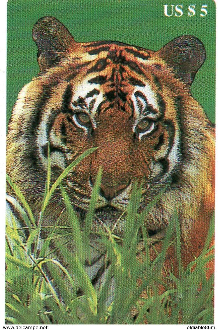 UNITED STATES - B.E.L. - THEMATIC ANIMALS TIGER - MINT - Andere