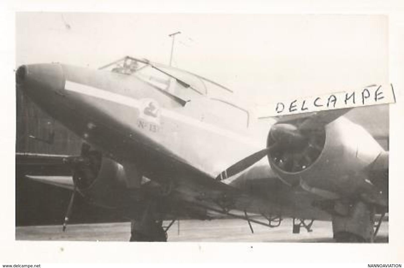 PHOTO AVION POTEZ 56 N°13  12X8CM - Aviation