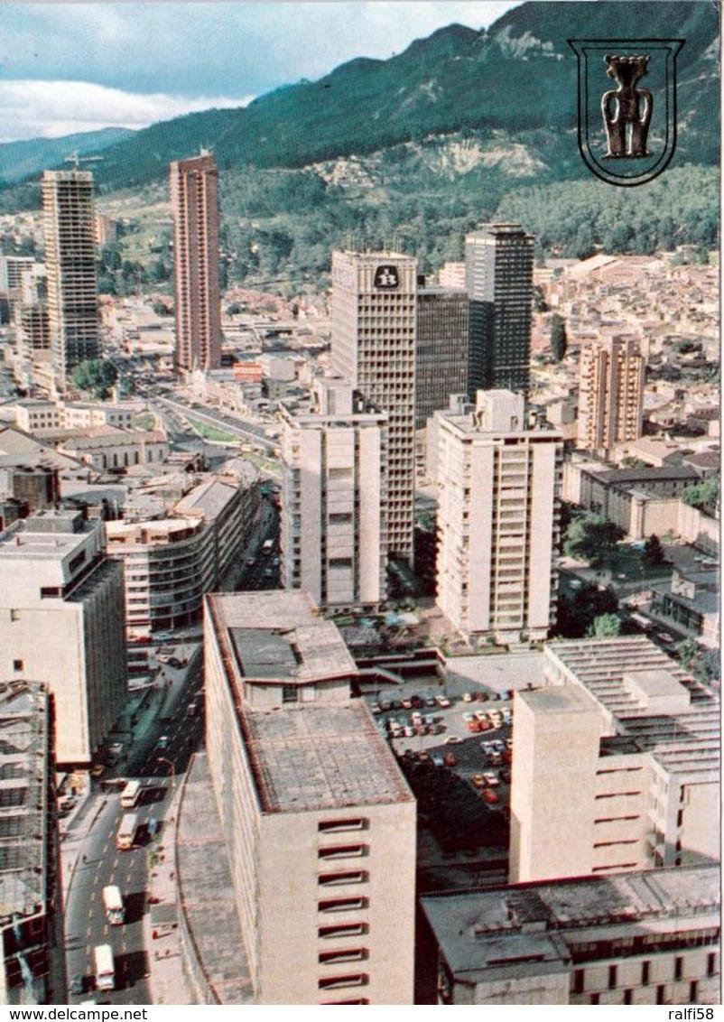1 AK Kolumbien Columbia * Blick Auf Bogota Die Hauptstadt Von Kolumbien - Luftbildaufnahme * - Colombie