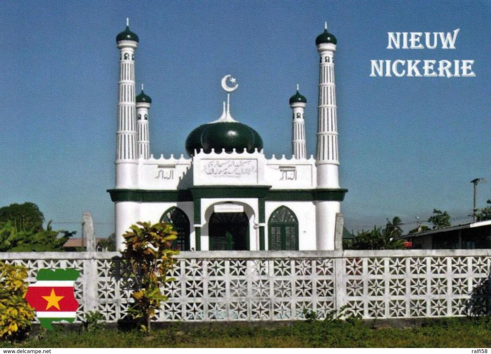 1 AK Surinam * Moschee In Nieuw-Nickerie - Die Stadt Ist Hauptstadt Des Distrikts Nickerie * - Suriname