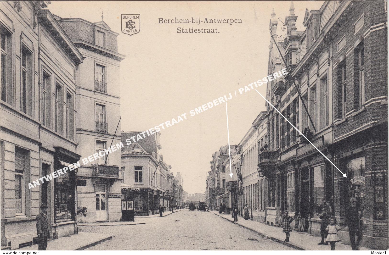 ANTWERPEN BERCHEM STATIESTRAAT SMEDERIJ / PATISSERIE - Antwerpen