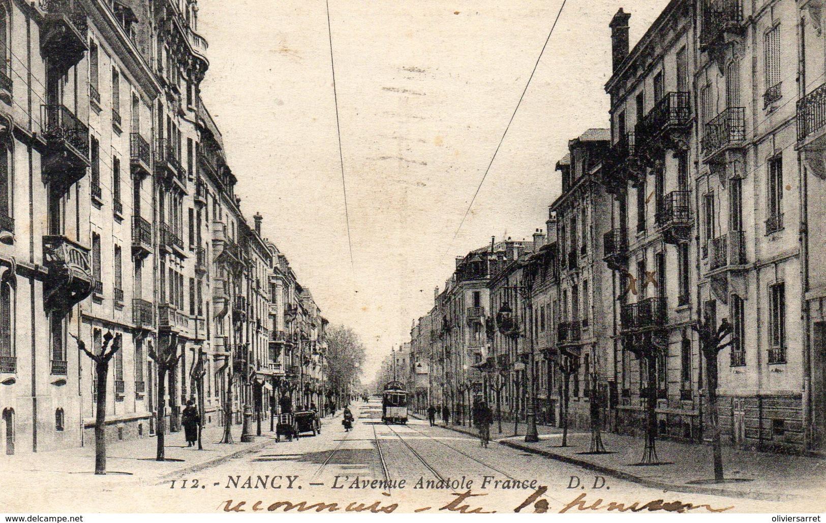 Nancy Avenue Anatole France - Nancy