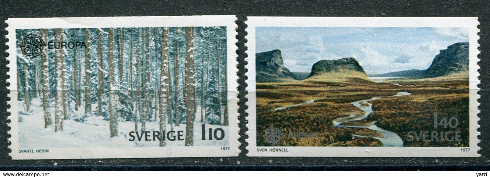 Europa Cept 1977 - Svezia, 1,10 Kr ** - Europa-CEPT