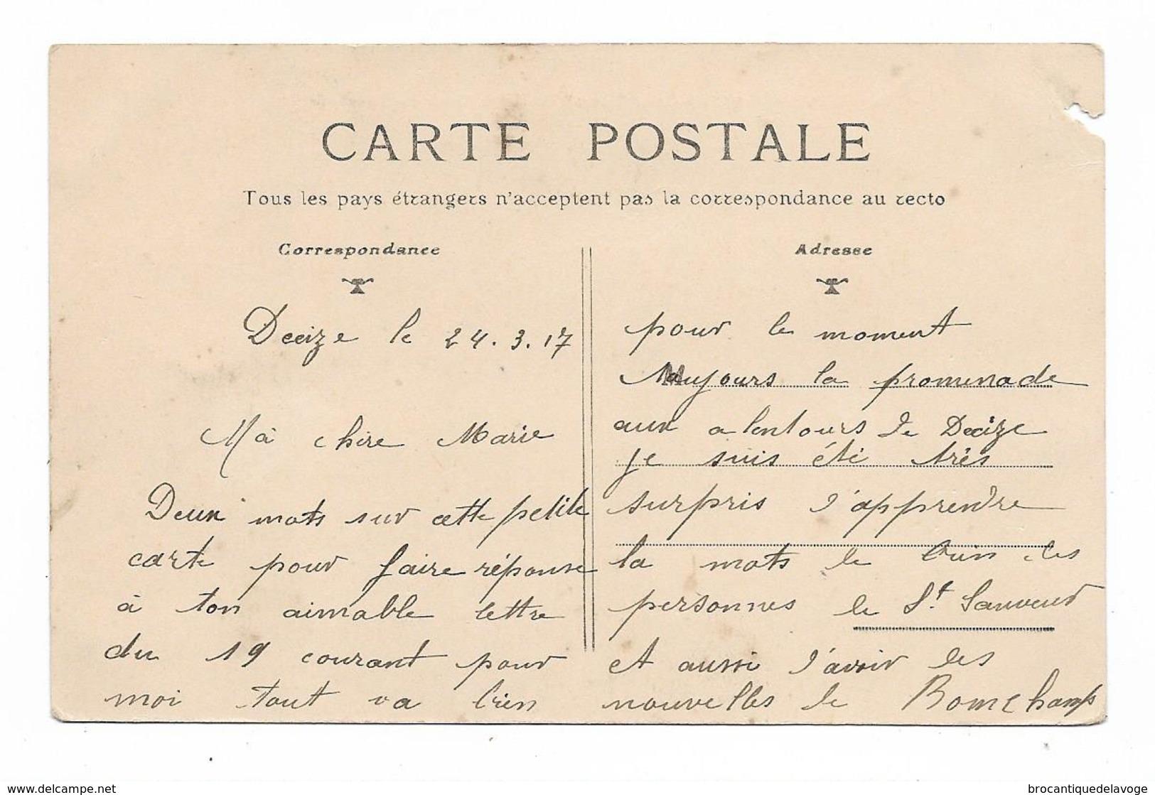 CPA 58 SAINT LEGER DES VIGNES Quai Du Canal (2) - France