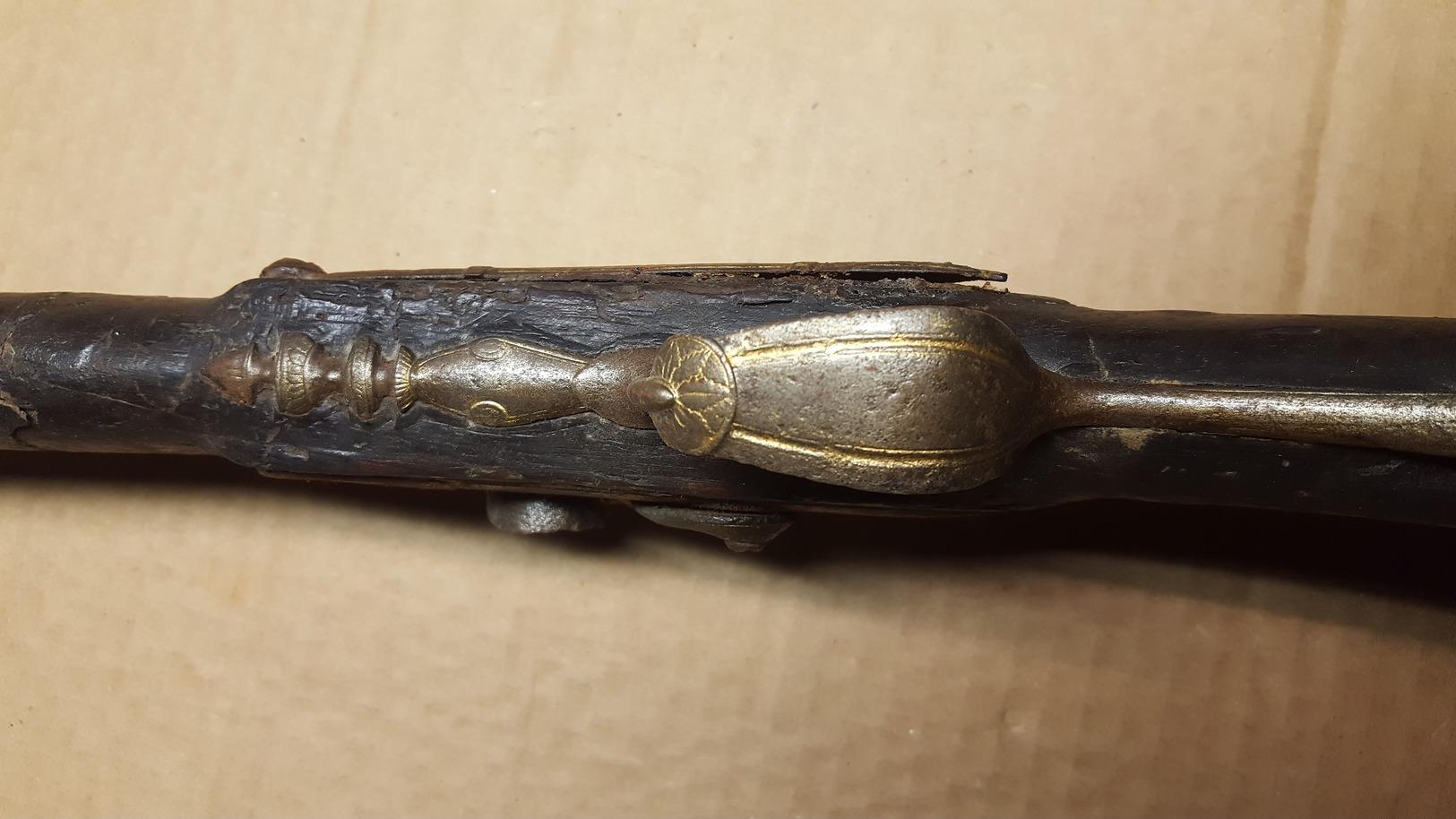 Fusil à Poudre Noire - Decotatieve Wapens