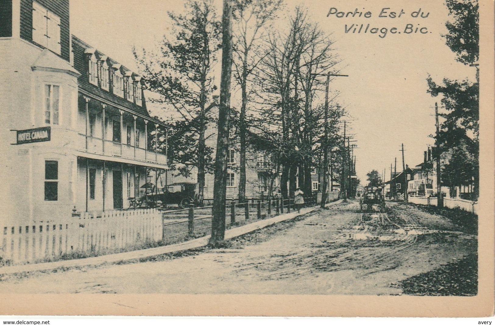 Partie Est Du Village, Bic, Quebec  Eastern Portion Of Bic, Quebec - Quebec