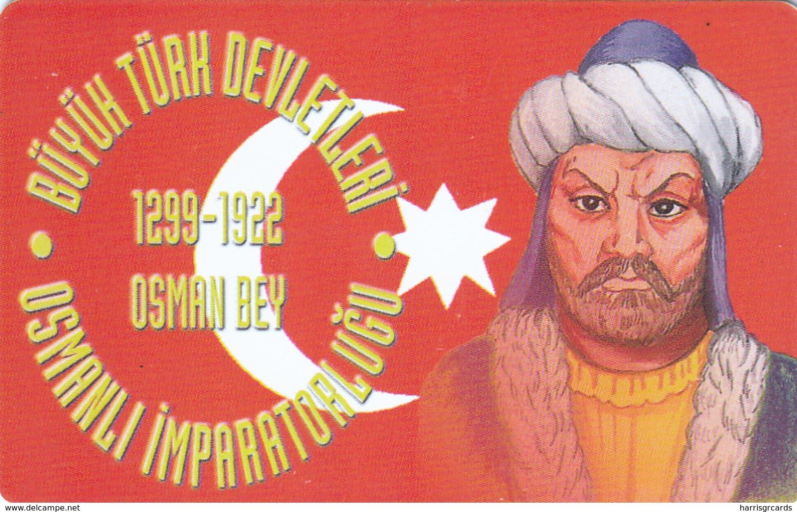 TURKEY - Osmanli Empire 1299-1922 Ad Founder Osman Bey ,Chip OR04 (Module 37) , 100 Unit ,used - Turchia
