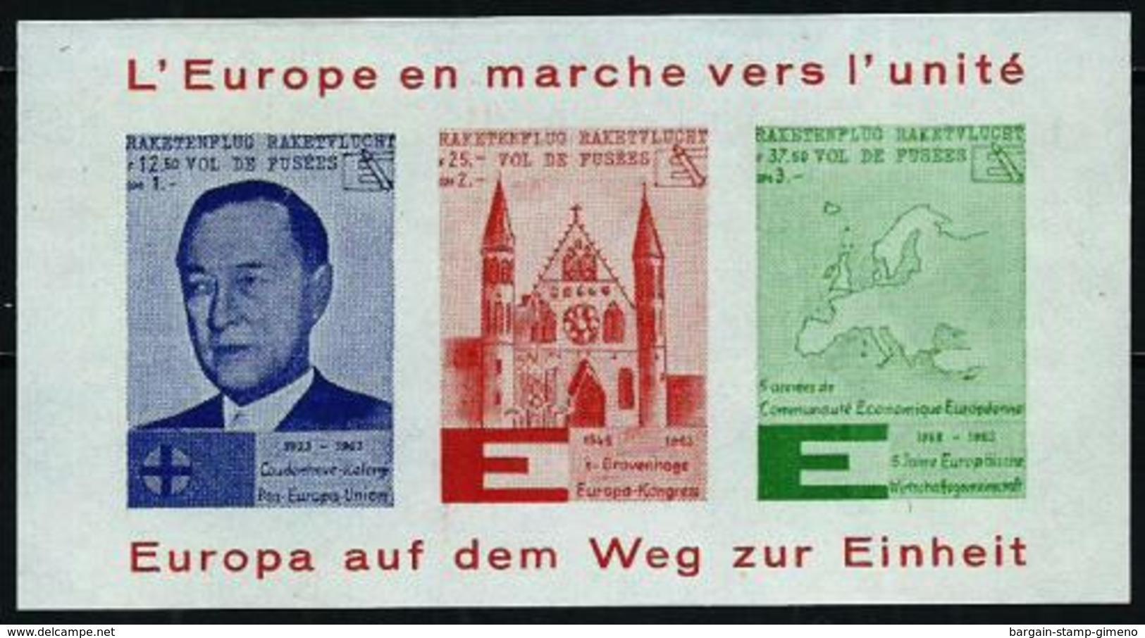Pro-Europa - Hoja Año 1963 - European Ideas