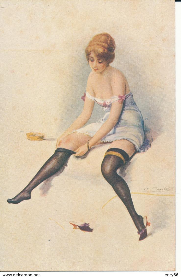 ILLUSTRATORE A.CHARLET SERIE 2 N°7 - Künstlerkarten