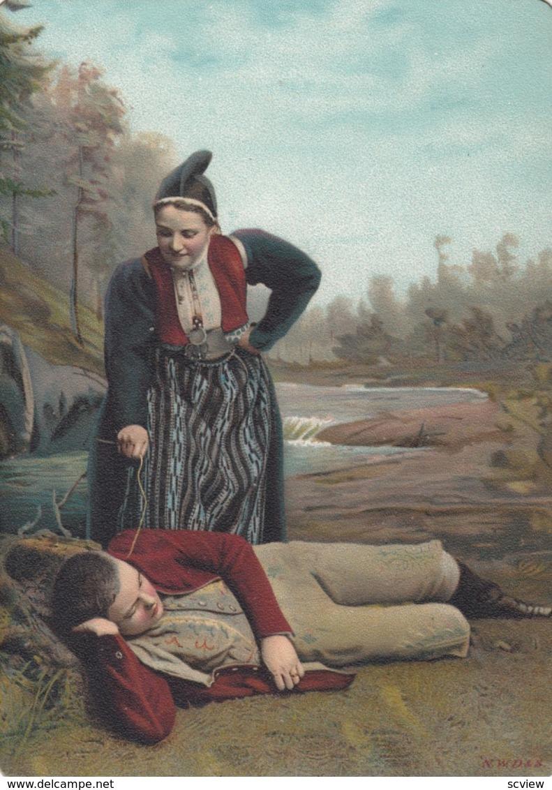 NORWAY , 1890s-1907 ; Native Couple #5 - Norway