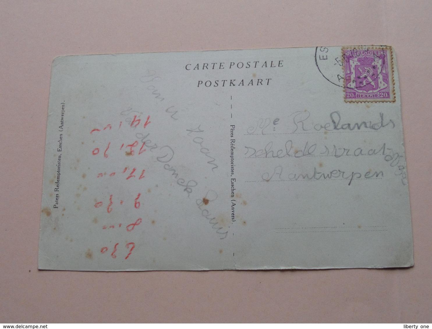 Paters Redemptoristen, Esschen ( Antwerpen ) ( Pères Redemptoristes ) Anno 1948 ( Zie / See / Voir Photo ) ! - Essen