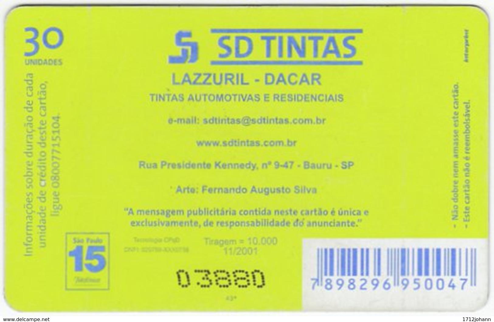 BRASIL K-340 Magnetic Telefonica - Used - Brasilien