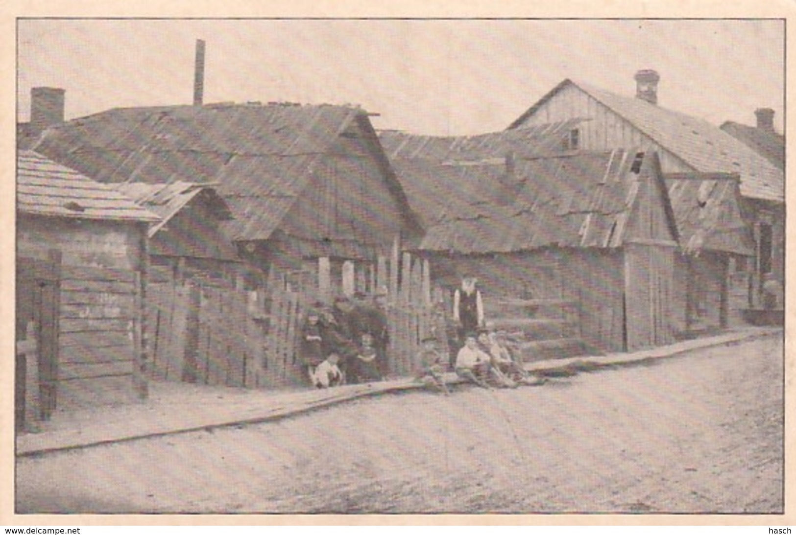 25379Baranowitschi,  Bismarckstrasse. – 7-10-1917. (FELDPOSTKARTE) - Belarus