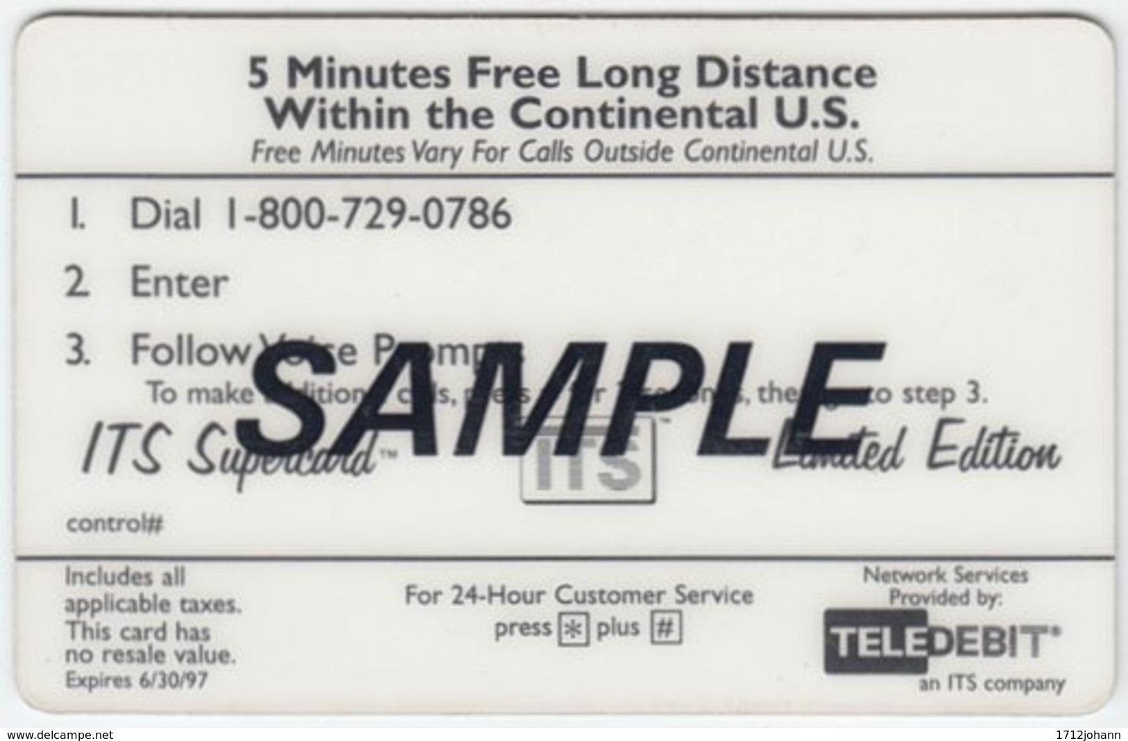 USA B-864 Prepaid TeleDebit - Advertising, Panasonic - Sample - Sonstige