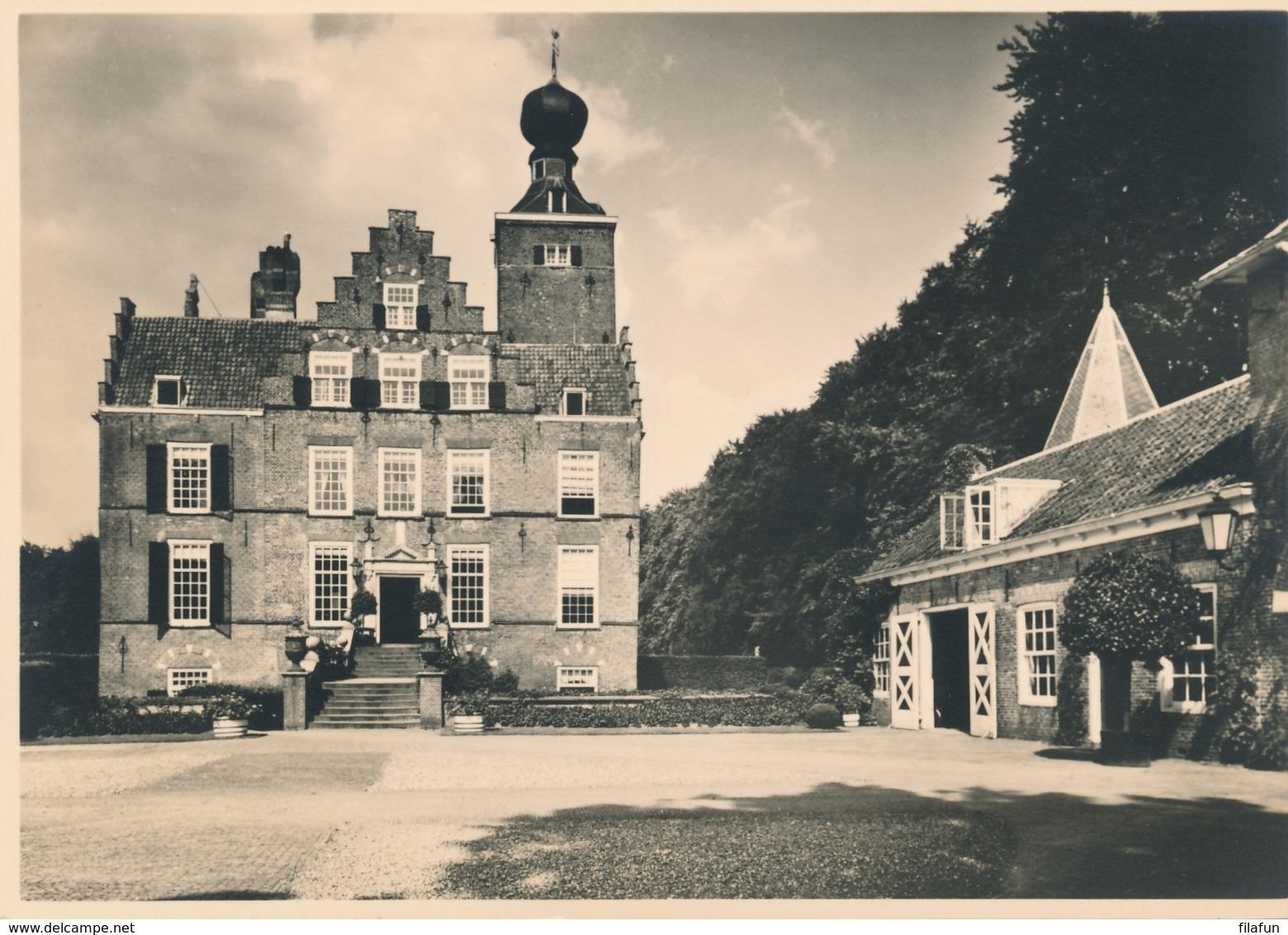 Nederland - 1946 - Kastelenserie 13 - Leersum Kasteel Zuylestein - Foto-briefkaart G286m Ongebruikt - Entiers Postaux