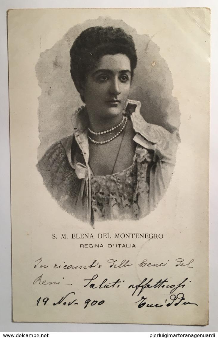 30196 S . M . Elena Del Montenegro Regina D ' Italia Anno 1900 - Königshäuser
