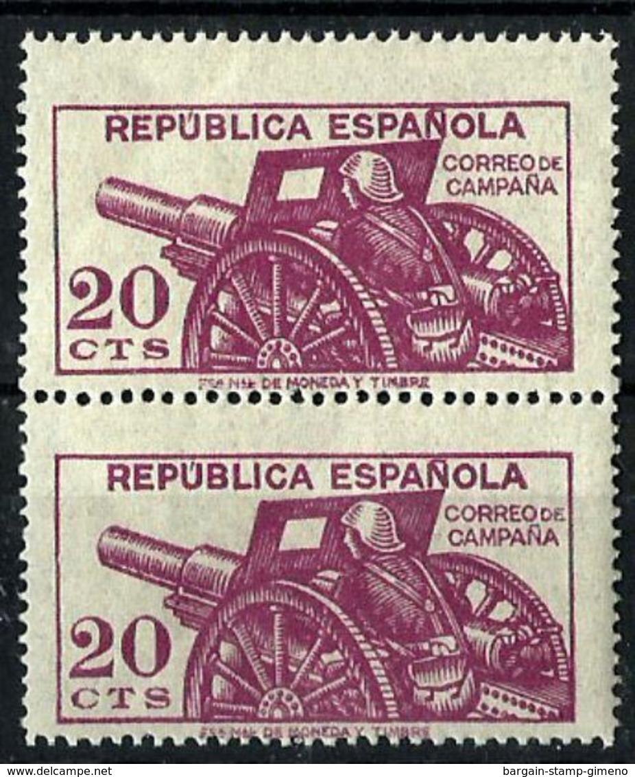 España NE-48 En Pareja, Nuevo. Cat.88€ - 1931-50 Unused Stamps