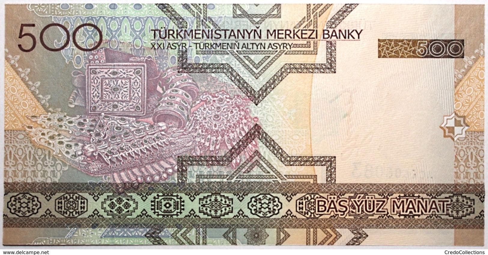 Turkménistan - 500 Manat - 2005 - PICK 19 - NEUF - Turkménistan