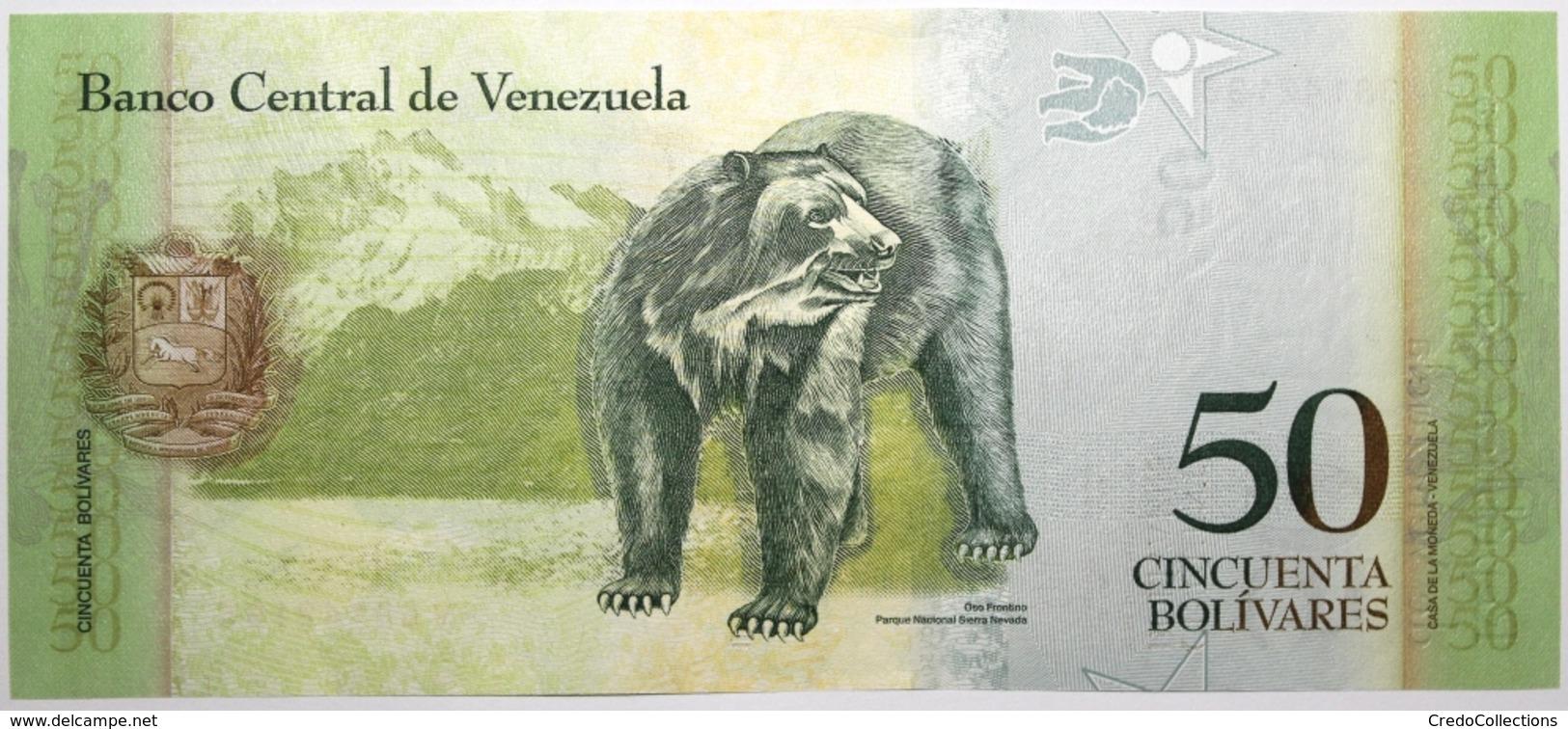 Venezuela - 50 Bolivares - 2012 - PICK 92g - NEUF - Venezuela