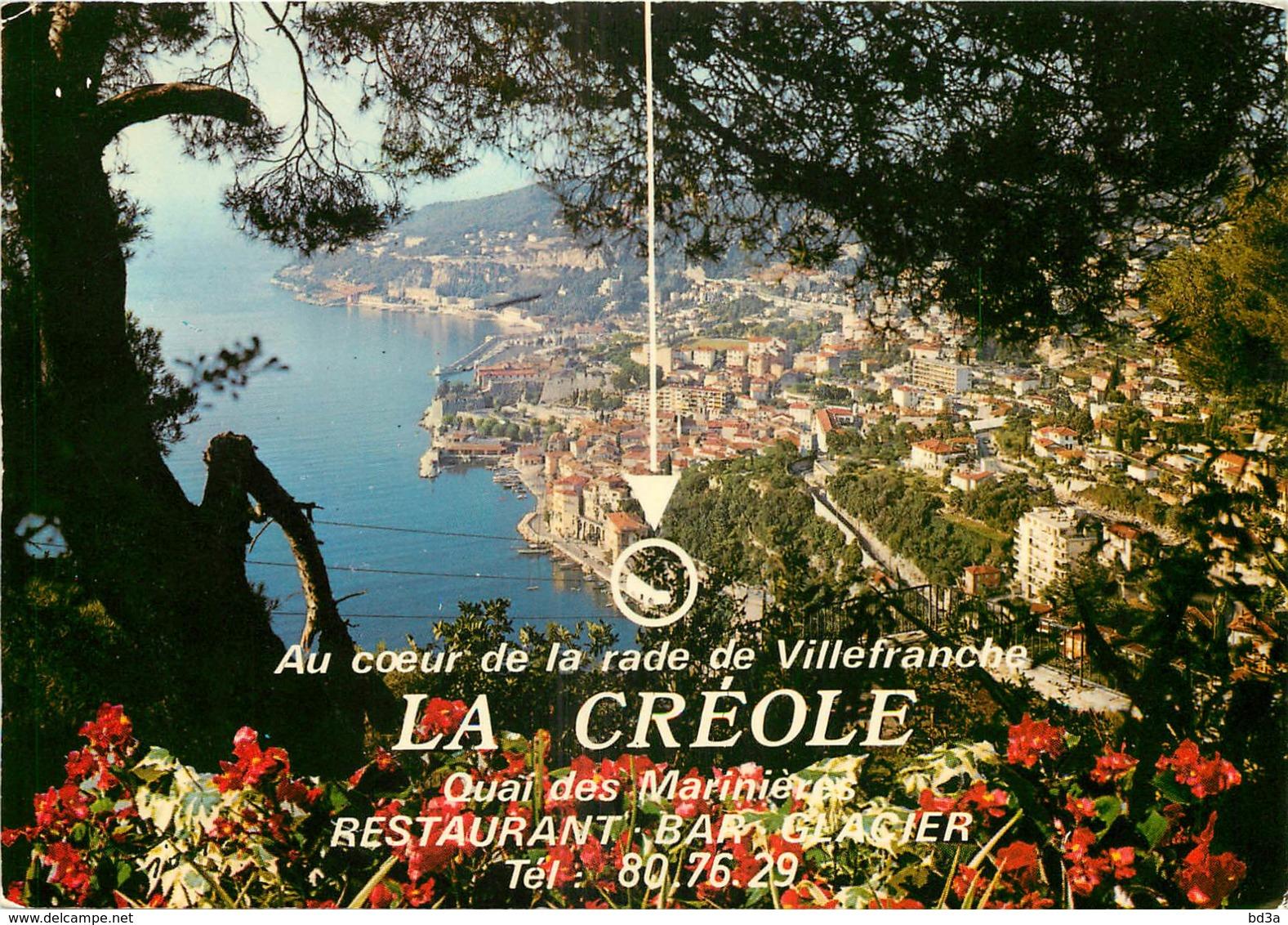 06 - VILLEFRANCHE SUR MER - LA CREOLE - Villefranche-sur-Mer