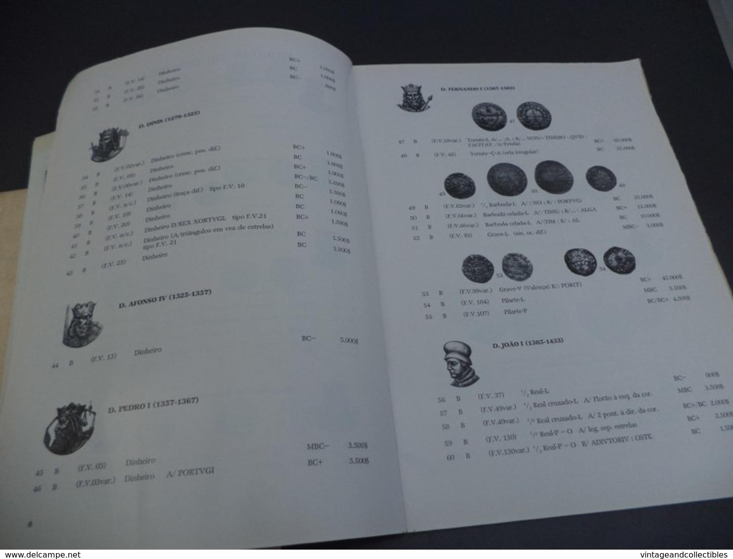 SOCIEDADE PORTUGUESA DE NUMISMÁTICA -1ª PERMUTA POR PRESENÇA/CORRESPONDENCIA - 1987 - Bücher, Zeitschriften, Comics