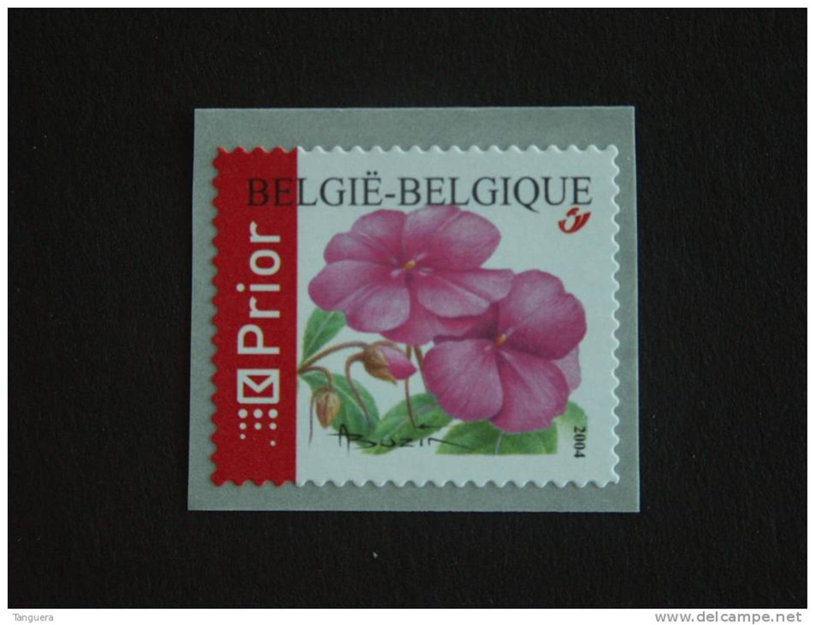 België Belgique Belgium 2004 Fleur Bloemen Impatiens Rolzegel Rouleau R109 3347 MNH ** - Rollen