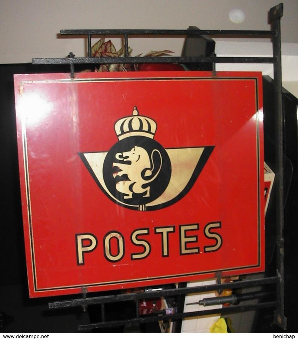 Cor De Poste - Enseigne Postal - Plaque En Tôle -Type III - 1974. - Andere Verzamelingen