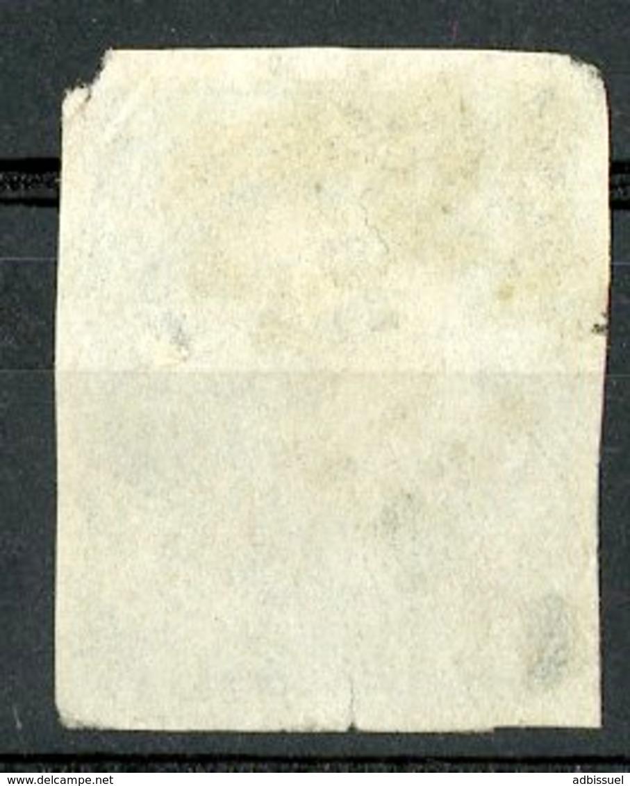 N°44B Cote 900 €. 20ct Bleu Type 1 Report 2. émission De Bordeaux. Lire Description - 1870 Bordeaux Printing