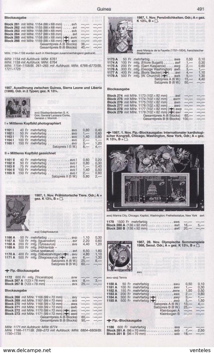 Guinea 28.11.1987 Mi # 1180-85A Bl 281-87 A 1180-85 Kleinbogen A, Seoul Summer Olympics MNH OG - Verano 1988: Seúl