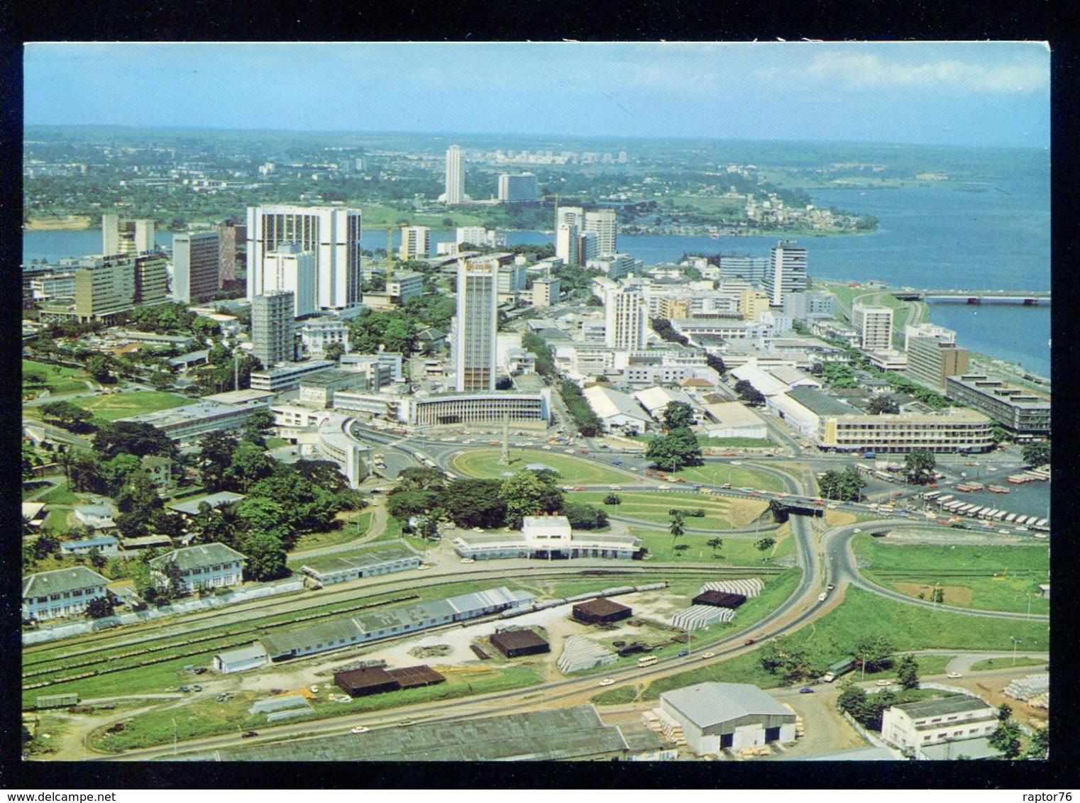 CPM Côte D'Ivoire ABIDJAN Vue Aérienne Du Plateau - Côte-d'Ivoire