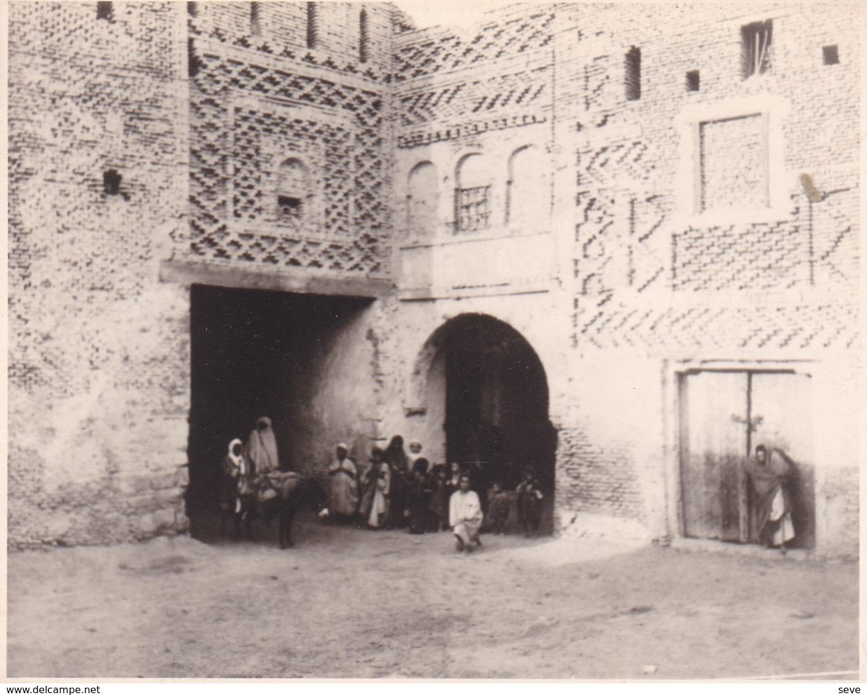 TOZEUR TUNISIE  1923   Photo Amateur Format Environ 5,5 X 7,5 Tirage Années '30 - Lugares