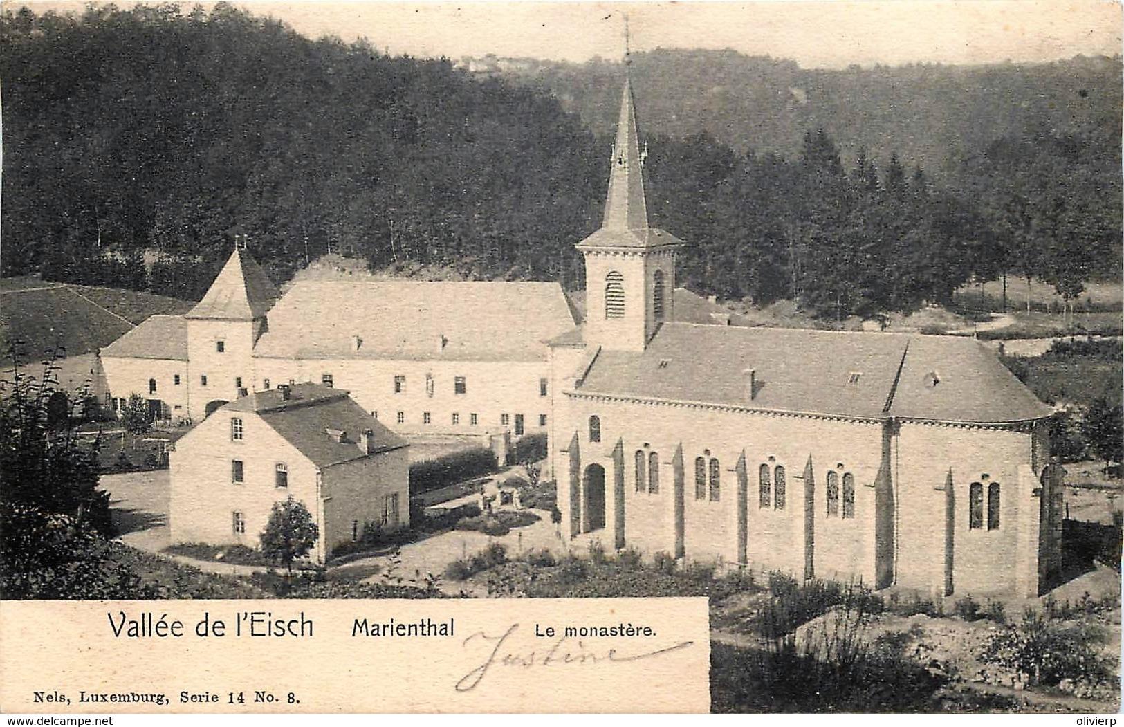 Luxembourg - Nels Série 14 N° 8 - Vallée De L' Eisch - Marienthal - Le Monastère - Postkaarten