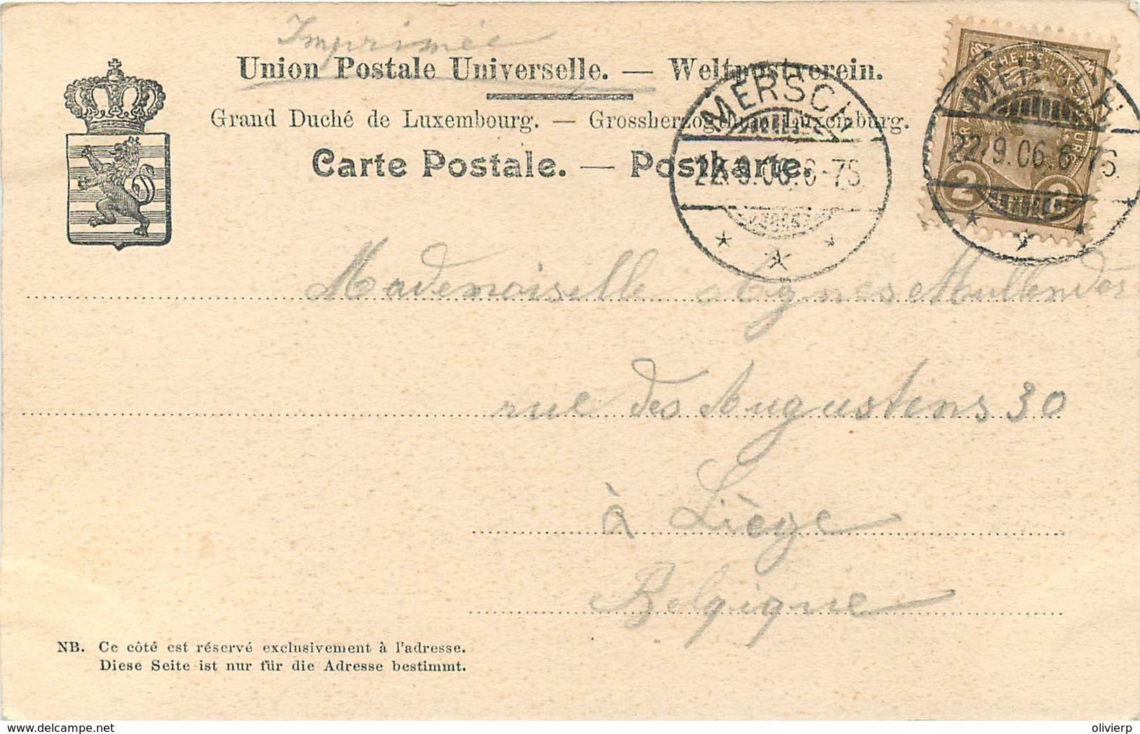 Luxembourg - Nels Série 14 N° 8 - Vallée De L' Eisch - Marienthal - Le Monastère - Cartes Postales