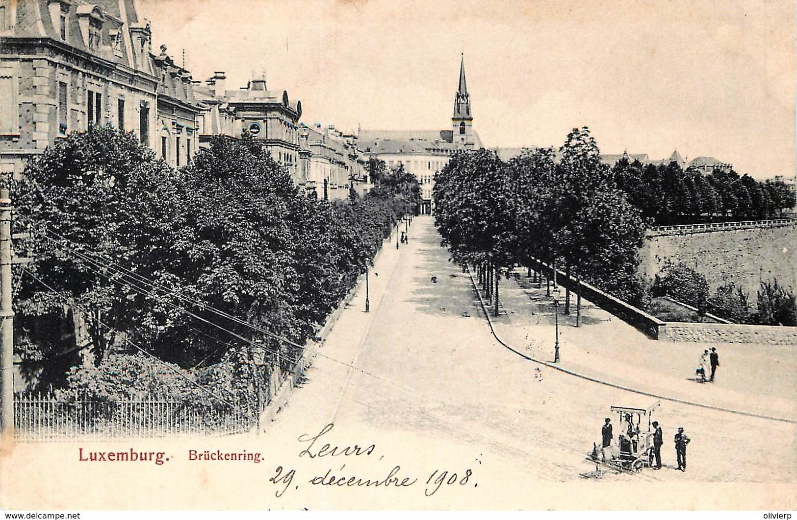 Luxembourg - Brückenring - Luxemburg - Stad