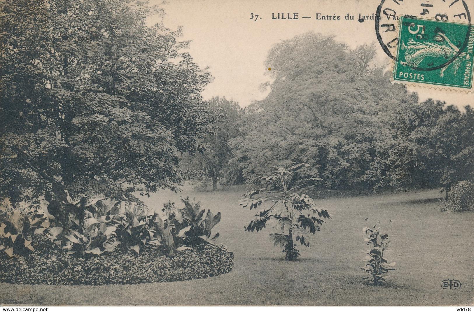 Lille Eld Petit Logo 37 Entréé Du Jardin Vauban - Lille