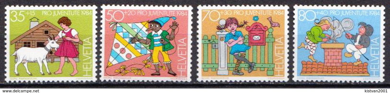 Switzerland MNH Set - Childhood & Youth