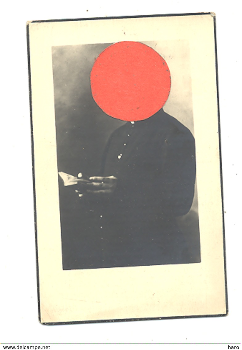 Faire-part De Décès De L'Abbé Marcellin CLOSE - SART / Lierne 1887/ LIERNEUX 1945 - Guerre 40/45, Voir Descriptif (b272) - Obituary Notices