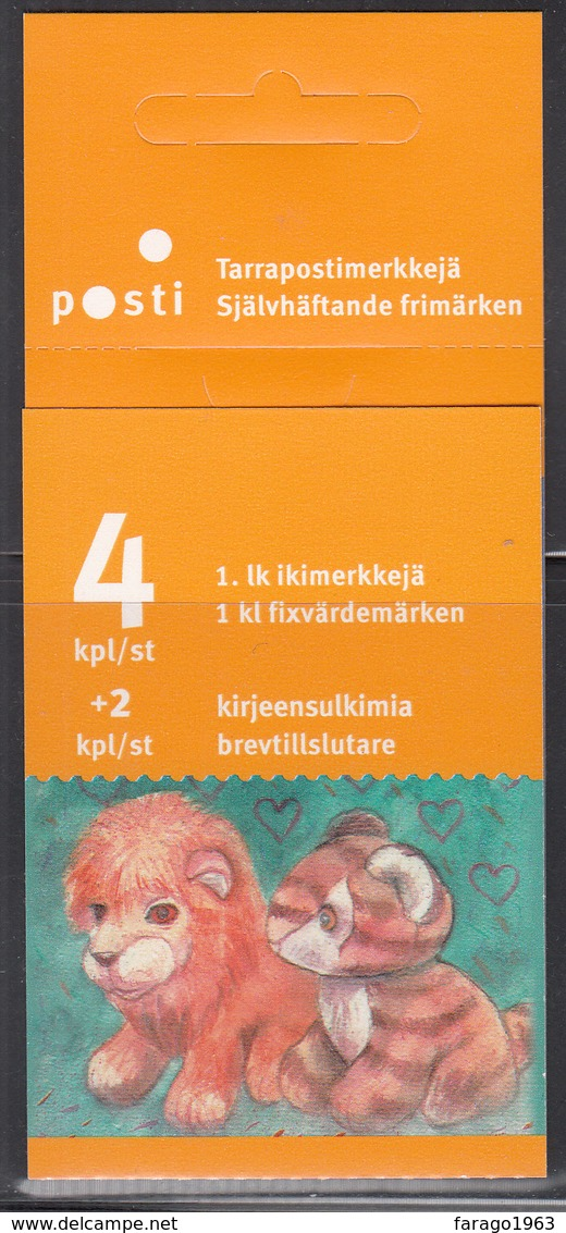 2005 Finland Children's Toys Complete Booklet Carnet  MNH - Finlande