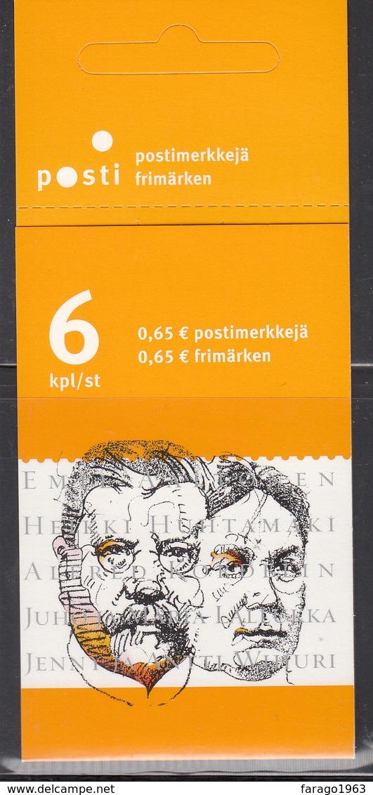 2003 Finland Philanthropists Complete Booklet Carnet  MNH @ BELOW FACE VALUE - Finlande