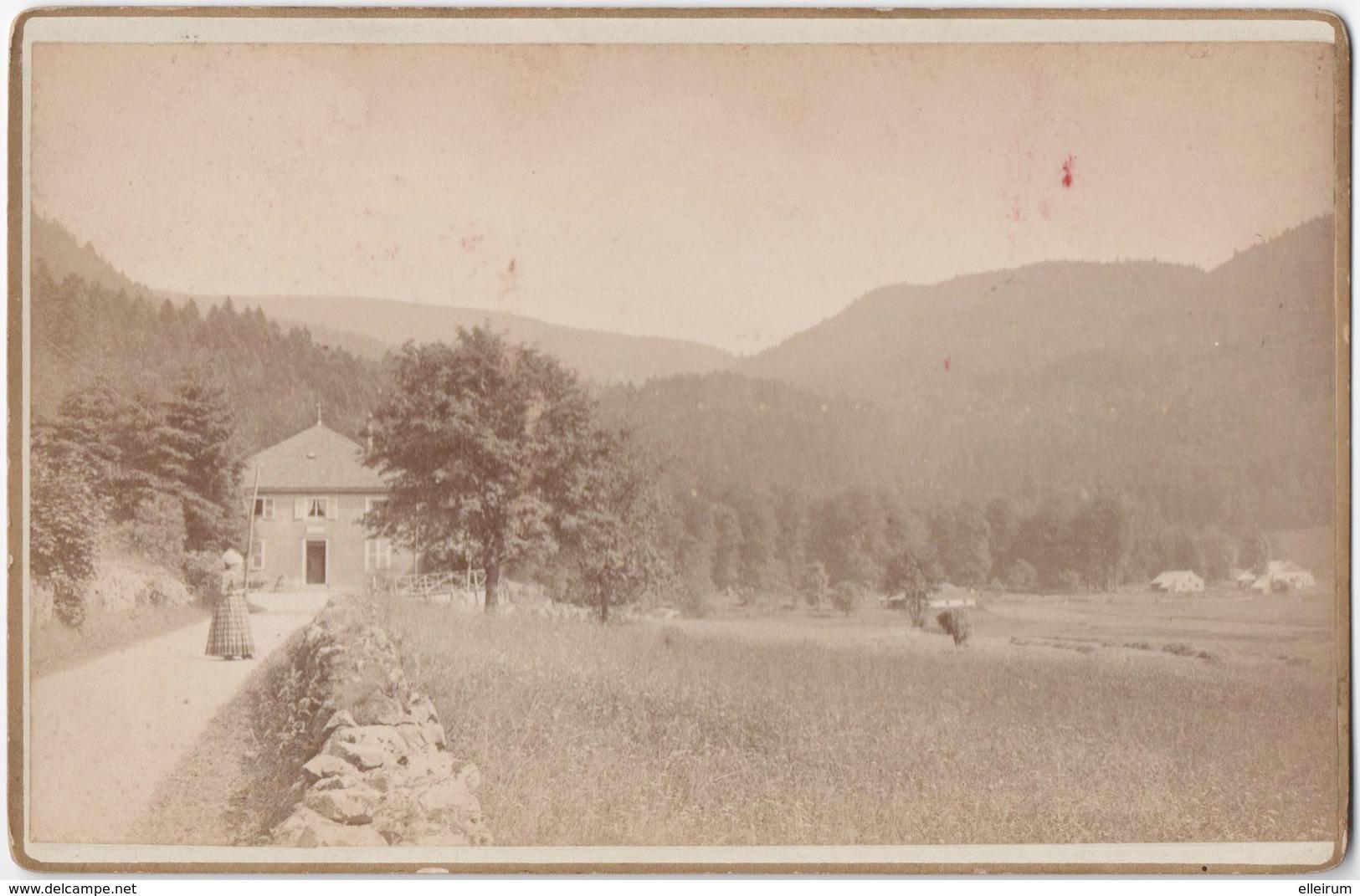 RETOURNEMER (88) PHOTO. 1891. PHOTOGRAPHIE FRANCK à St-DIE-des-VOSGES. - Antiche (ante 1900)