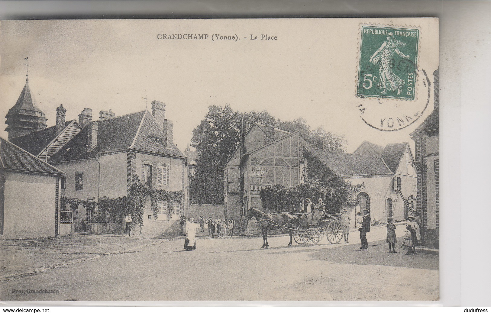 GRANDCHAMP  LA PLACE - France