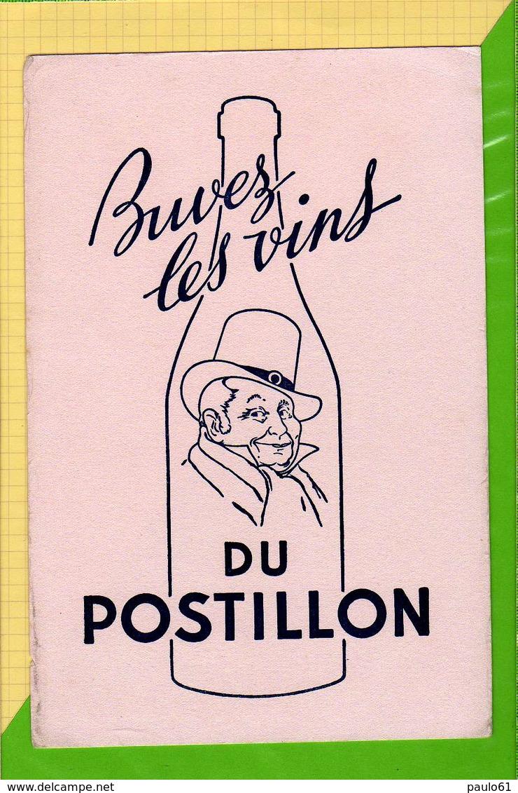 BUVARD & Blotting Paper  : Buvez Les Vins Du Postillon - Schnaps & Bier