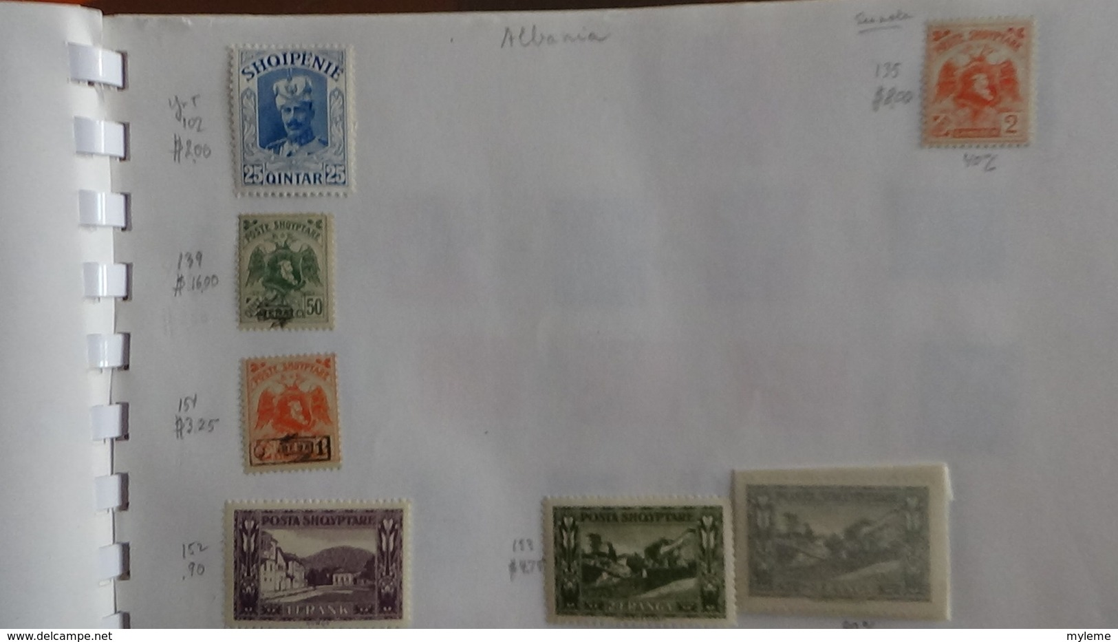 A257 Cahier De Timbres De Tchécoslovaqiue Et Albanie  !!! Voir Commentaires - Sammlungen (im Alben)