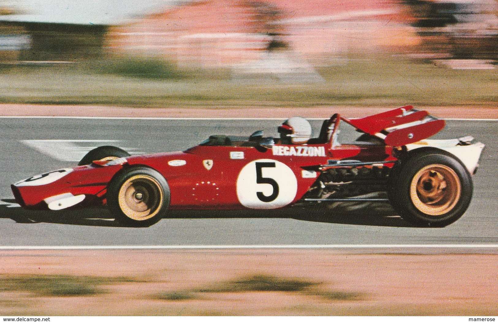 FERRARI 312 B-1 - FERRARI  S.E.F.A.C. (Clay Regazzoni) N°5. Motor: FERRARI BOXER - Sport Automobile
