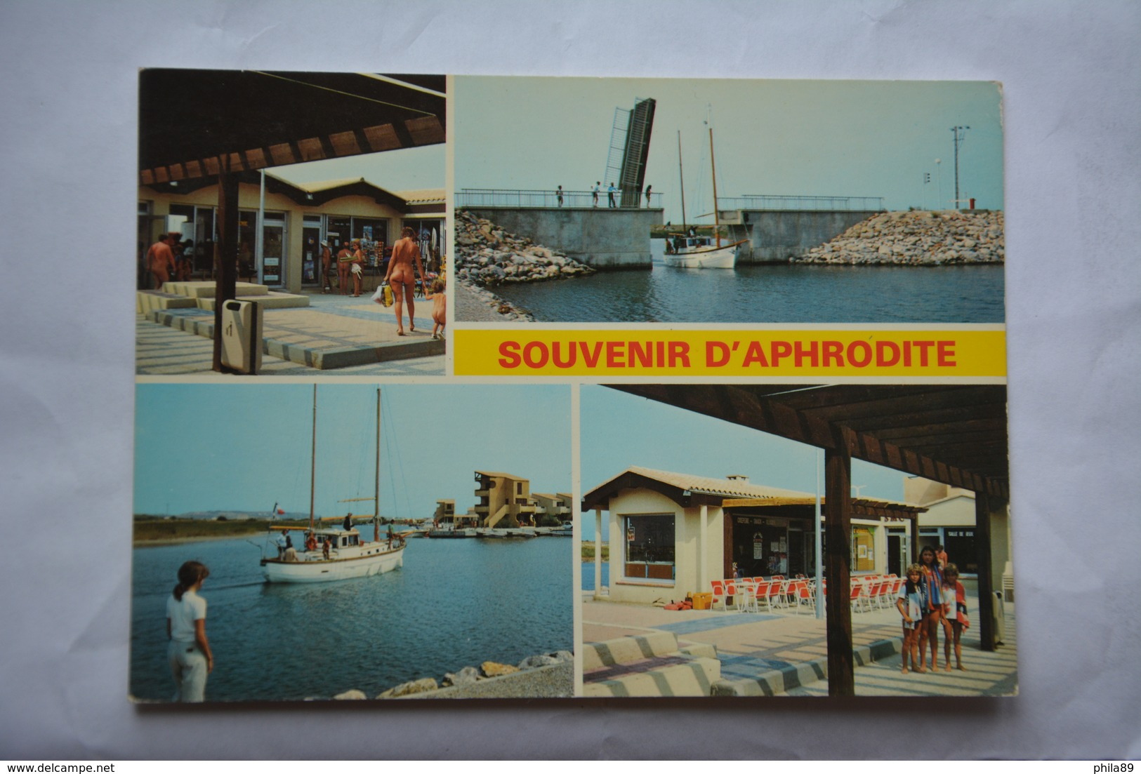 PORT LEUCATE-Aphrodite Village-le Centre Commercial,le Bateau Promenade-naturistes - Frankrijk