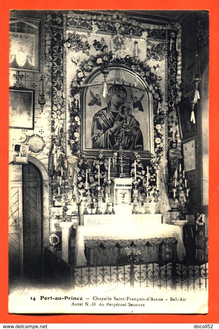 """CPA Haiti - Port Au Prince """" Chapelle Saint François D'assise - Bel Air """" - Postcards"""