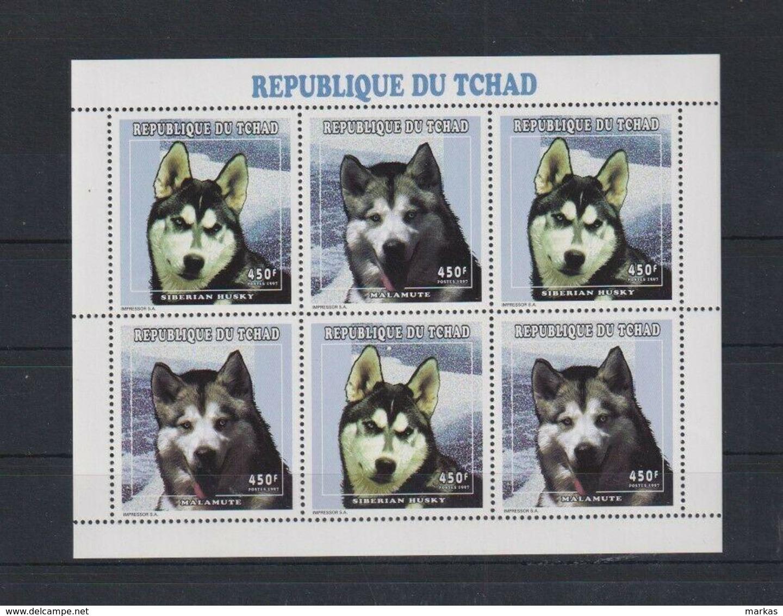 N326. Tchad - MNH - Animal Kingdom - Dogs - Briefmarken
