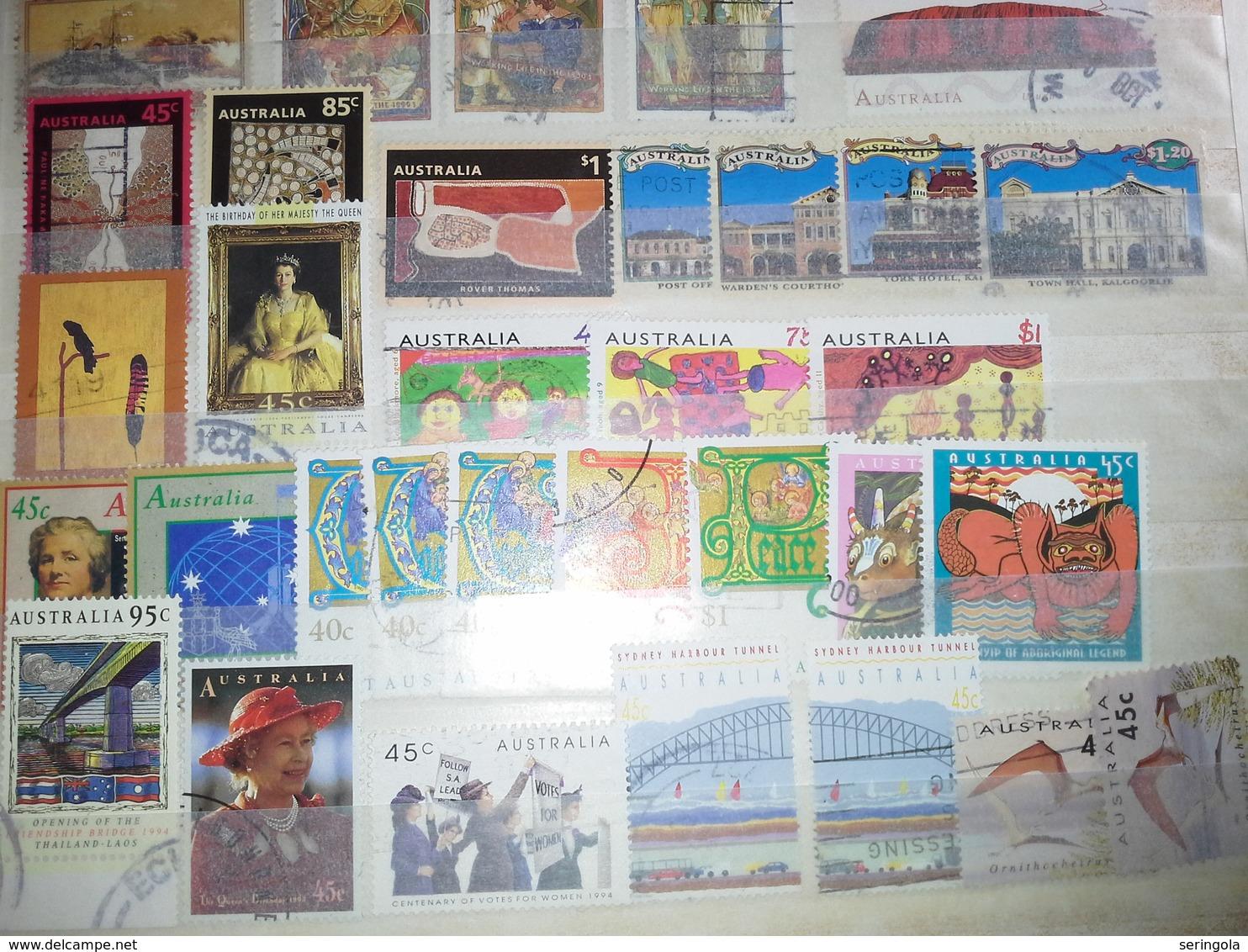 Smail Lot Austrália - Briefmarken