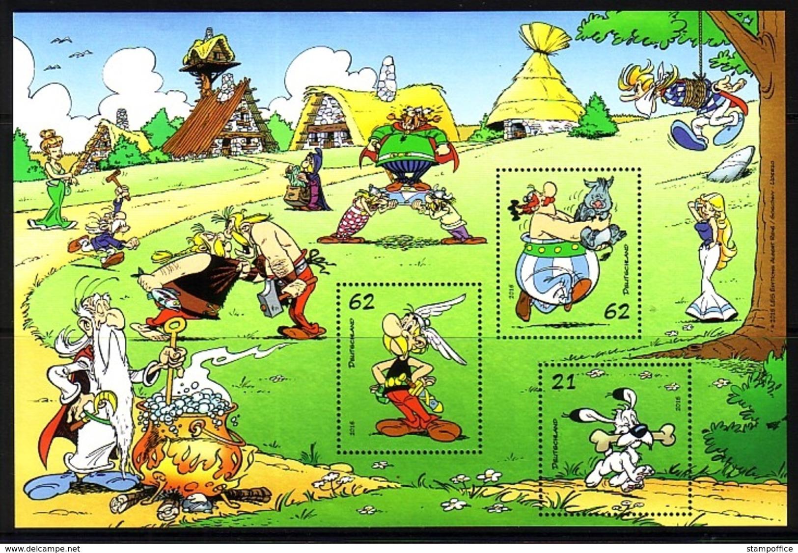 DEUTSCHLAND BLOCK 80 POSTFRISCH(MINT) ASTERIX UND OBELIX 2015 - Fumetti