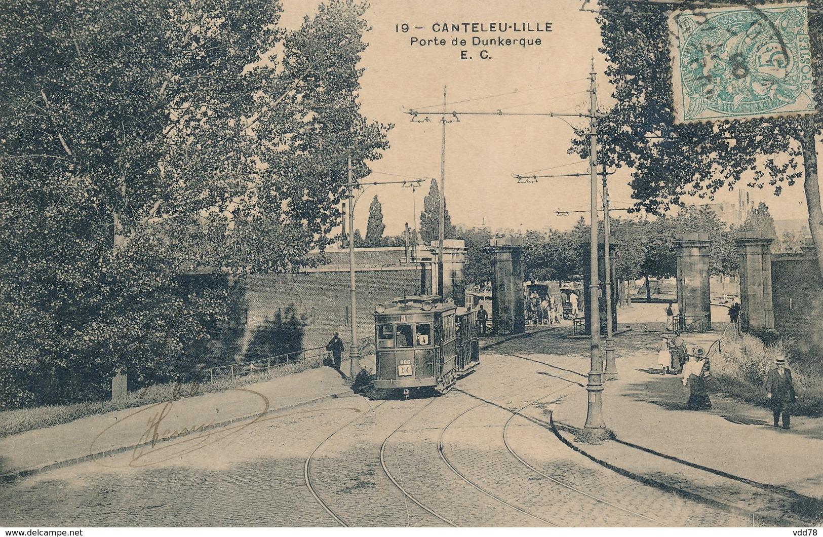 Lille Canteleu EC 19 Porte De Dunkerque TBE - Lille